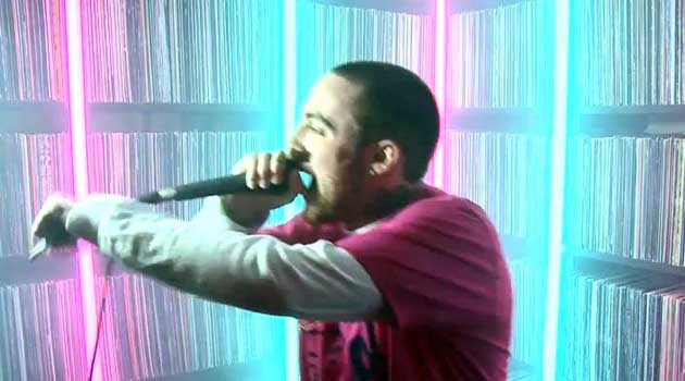 Westwood Crib Sessions - Mac Miller freestyle (Video)