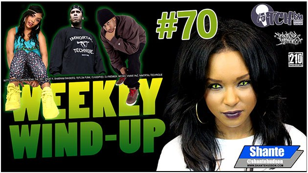 Weekly Wind-Up 70 hosted by Shante Hudson