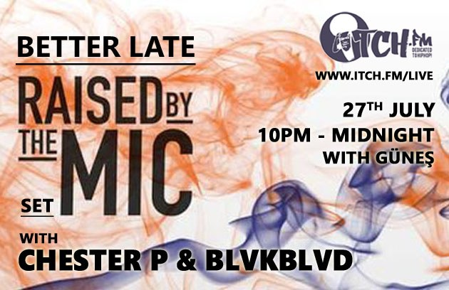 Chester P & BLVKBLVD radio show tonight!