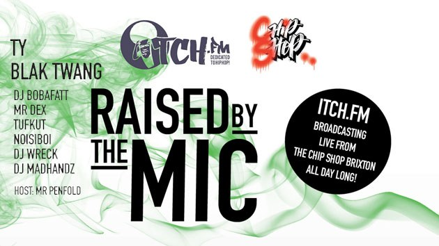 Itch FM – Raised by the Mic (Ty & Blak Twang) 12.11.16